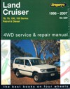 Toyota Landcruiser Petrol and Diesel 78 79 100 105 series repair manual 1998-2007 Gregorys NEW