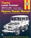 Toyota Landcruiser petrol FJ series repair manual 1968-1982 NEW