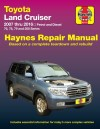 Toyota Land Cruiser Petrol Diesel 2007-2016 Haynes Service Repair Workshop Manual