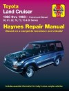 Toyota Land Cruiser Diesel Petrol 1980-1998 Haynes Service Repair Workshop Manual